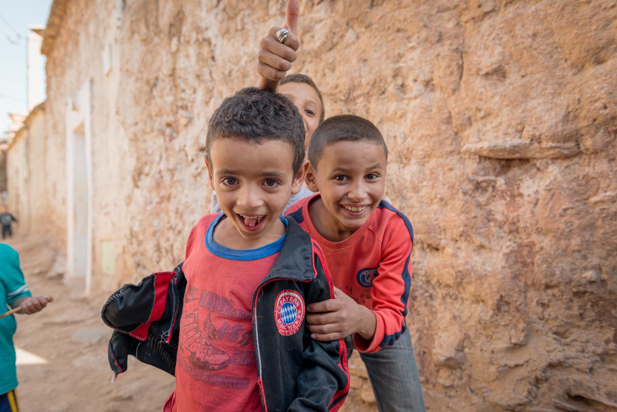Marrakech - Smiling boys
