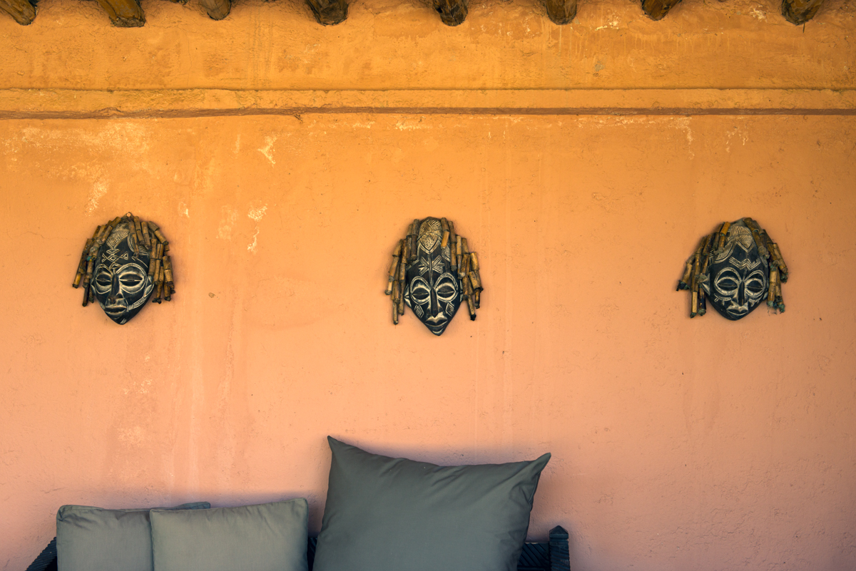 Marrakech - Wall masks
