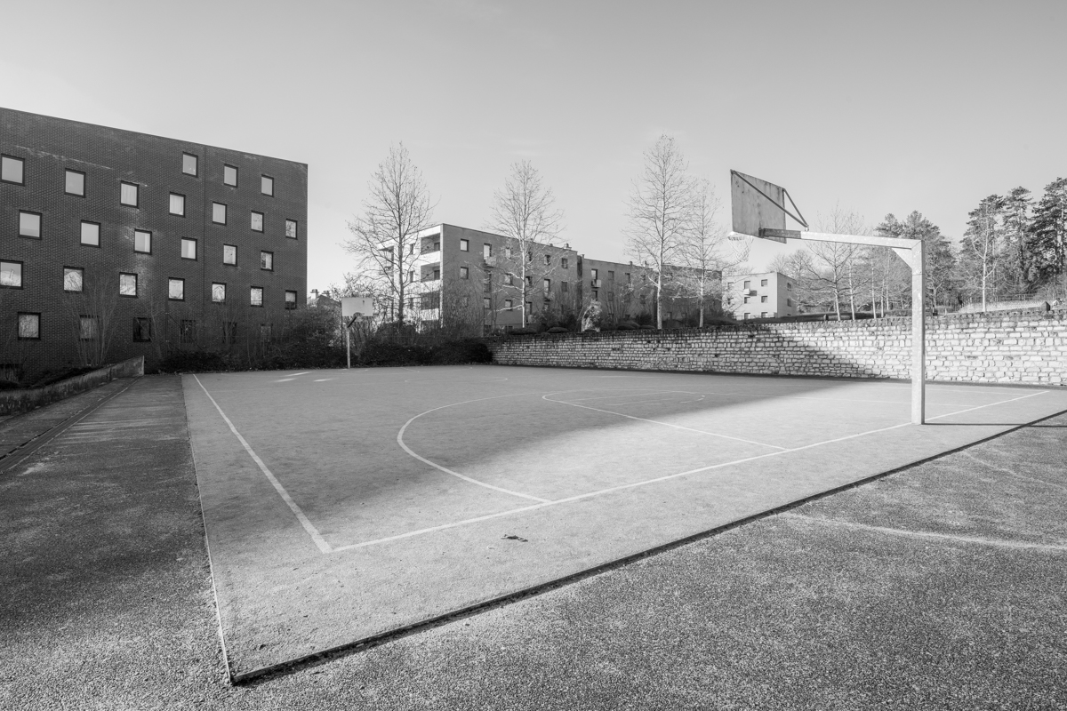 Basketcourt Leuven