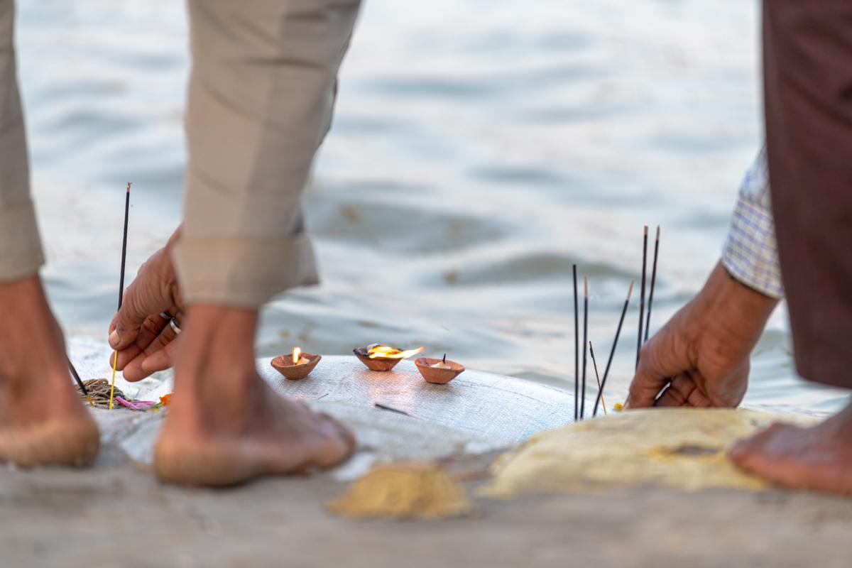 Kumbh Mela - Candles